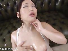 Asian, Big Tits, Blowjob, Cumshot, MILF