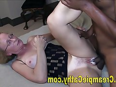 Anal, Creampie, Interracial, MILF, Threesome