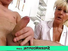 Mature, MILF, Granny, Old and Young, Handjob