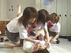 Femdom, Gangbang, Group Sex, Japanese