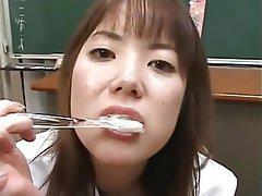 Cum in mouth, Cumshot, Japanese