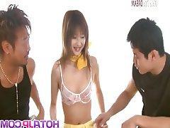 Asian, Blowjob, Group Sex, Japanese, MILF