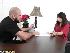 Babe, Big Ass, Blowjob, Casting