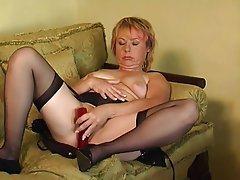 Mature, MILF, Pantyhose, Stockings
