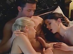 Facial, Stockings, Threesome, Vintage