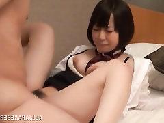 Asian, Big Cock, Blowjob, Creampie